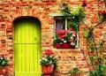 pintu rumah ilustrasi pintu surga
