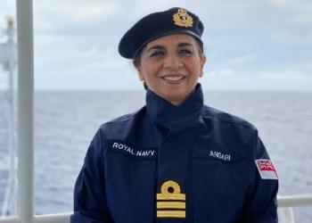 Durdana Ansari. Foto: Royal Navy