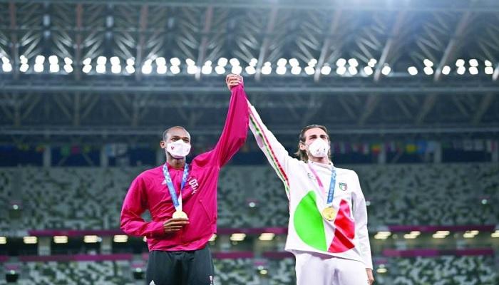 Bashim dan Gianmarco berbagi emas olimpiade Tokyo 2020