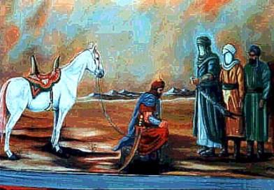 Historia de Al-Husain (P) y Al-Hurr