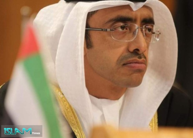 """UAE Foreign Minister Calls on Palestinian Leadership to Engage in """"Fruitful Talks"""" with 'Israel'"""