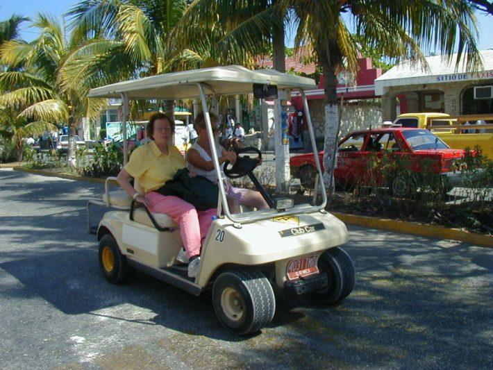 Isla Mujeres Golf Cart