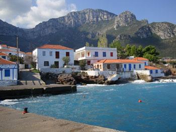 Kyparissi Sailing Saronic Gulf Islands Greece Holiday