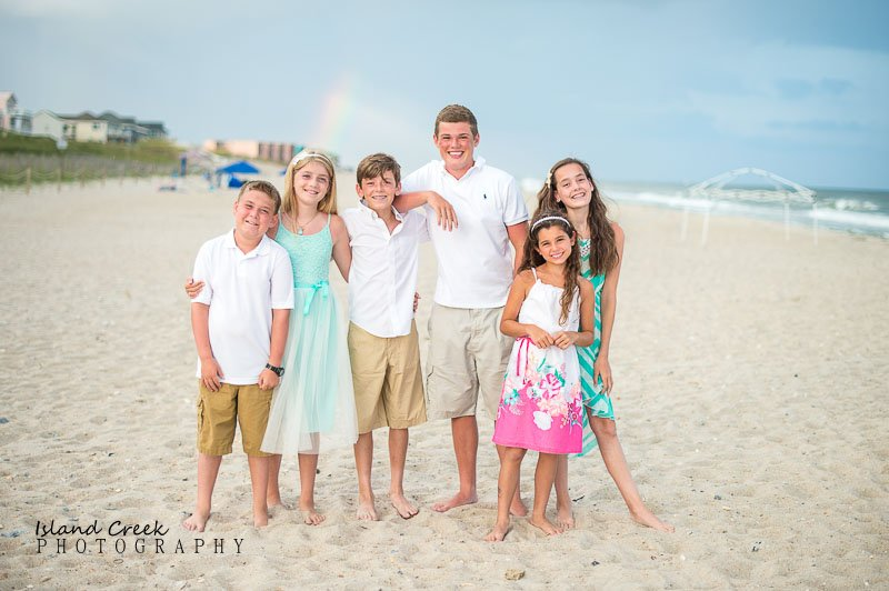 The White Family Beach Portraits