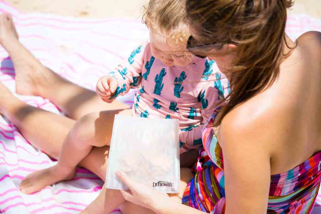Dr. Brown's, Dr. Brown's resuable snack bags, mom blogger, hawaii blogger