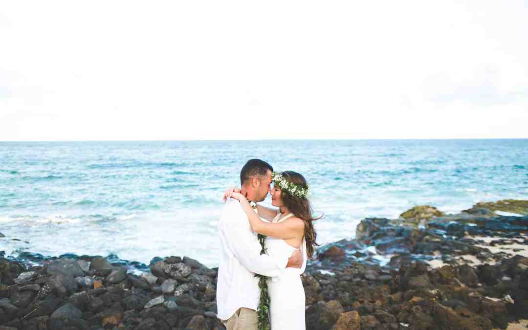 FIVE YEAR VOW RENEWAL ON KAUAI