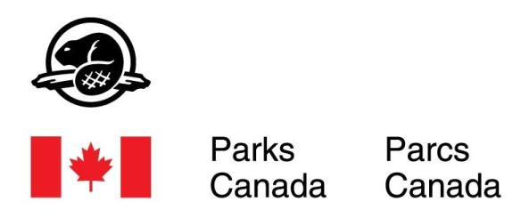 Parks Canada partnering logo