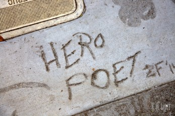 Sidewalk art appropriate to the occasion!