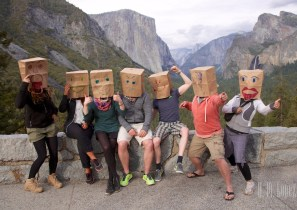 Germa tourists … the masks started at the Grand Canyon ...
