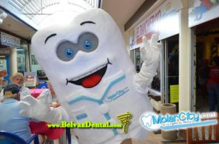 Although we didn't see him, there is even a Molar City mascot.  Doctor Molar!