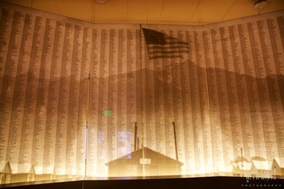 The names of the  internees of Manzanar
