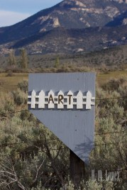 Nevada Fence Art