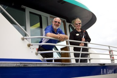 Captain Chris and First Mate Amy