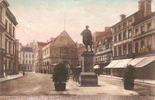 Market Square, Shrewsbury