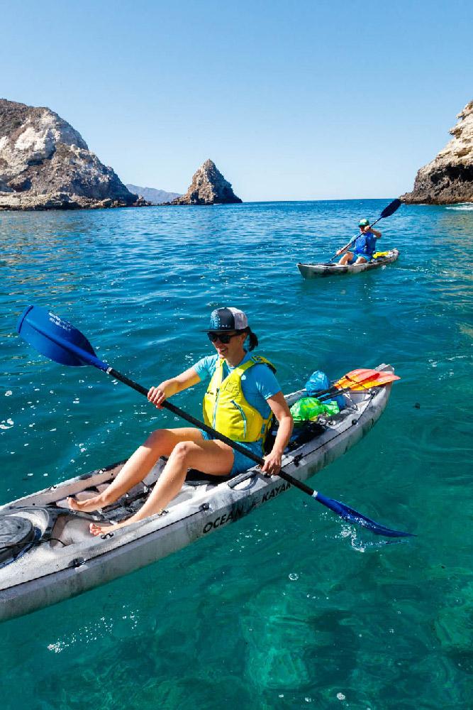 Kayak Tours - Channel Islands Adventure Company | Kayaking