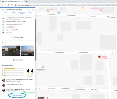 Google My Business Review Update | Island Media Management