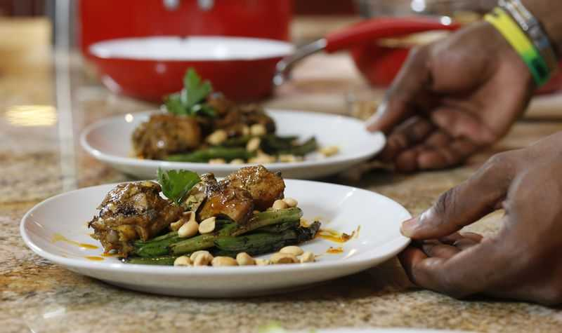 Chef Iries Curried Peanut Chicken Island Origins The Caribbean