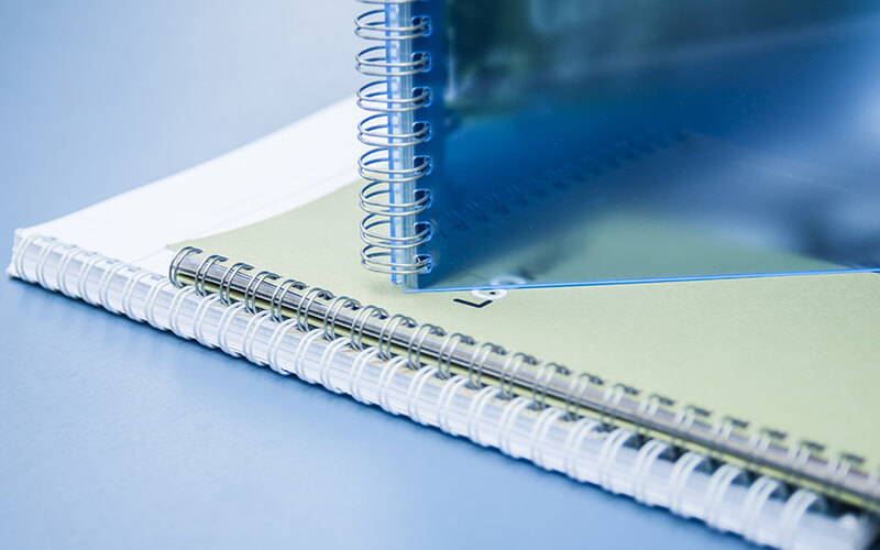 Two Wire Bind Booklets