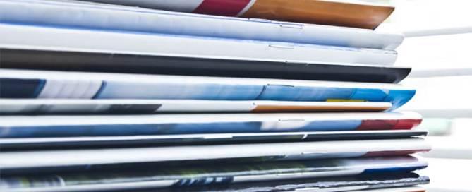 Saddle Stitch Booklets Stacked