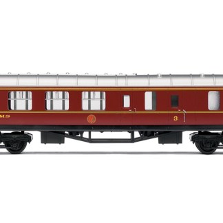 RailRoad, LMS, Brake Third Coach - Era 3