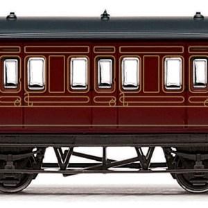 RailRoad, LMS, 4 wheel Coach - Era 3