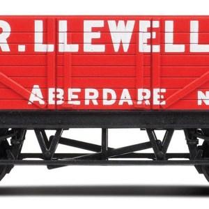 RailRoad 'D.R. Llewellyn' Open Wagon - LWB