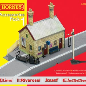 Hornby TrakMat Accessories & Building Pack 1