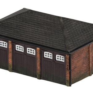 Hornby Skaledale Triple Garage Building
