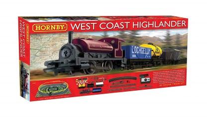 Hornby West Coast Highlander Train Set
