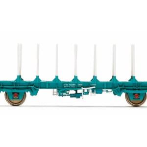 Hornby OTA Timber Wagon (Parallel Stanchions), Transrail - Era 8