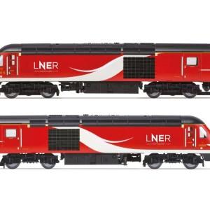 Hornby LNER, Class 43 HST, Power Cars 43315 and 43309 - Era 11