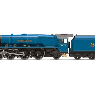 Hornby BR, Princess Coronation Class, 4-6-2, 46225 'Duchess of Gloucester' Steam Locomotive - Era 4