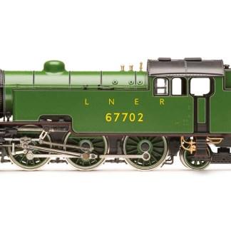 Hornby LNER, Thompson L1 Class, 2-6-4T, 67702 Steam Locomotive - Era 4