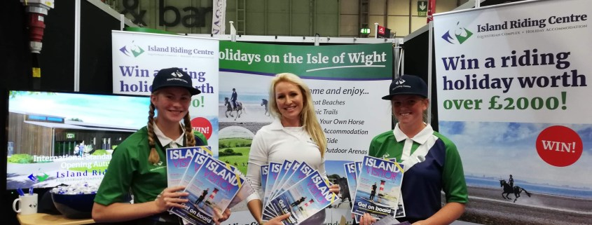 Island Riding Centre at Horse of the Year Show 2018