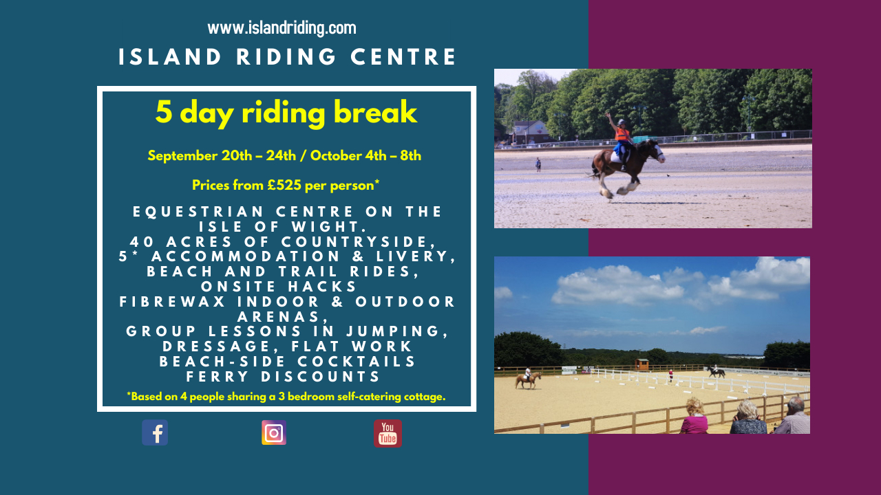RIDING POSTER