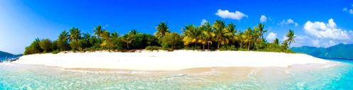Sandy Cay beach near Jost Van Dyke and St. John