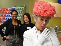 The queen comes to Island Sexual Health open house at the new clinic