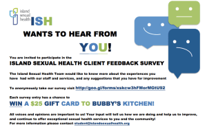 We're asking past and present clients to take a short survey that we will be using to improve our client service.