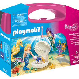 Magical mermaid carry case playmobil