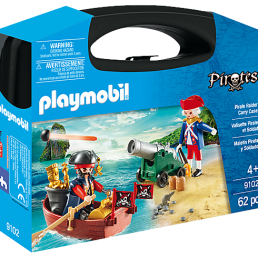 pirate raider carry case playmobil