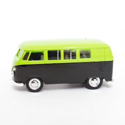neon volkswagen bus