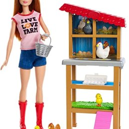 chicken farmer barbie