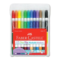 duo tip markers by faber castell