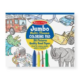 multi theme coloring pad
