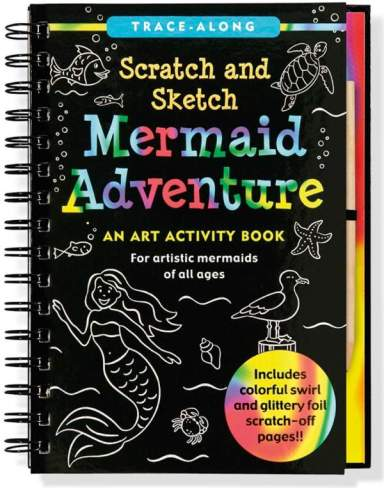 mermaid adventure scratch and sketch