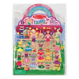 puffy sticker fairy play set