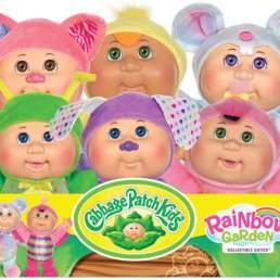 rainbow garden cuties