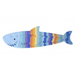 shark puzzle alphabet