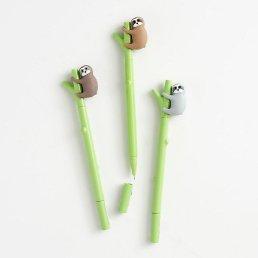 sloth gel pens