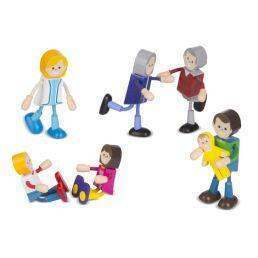 wooden flexible figures